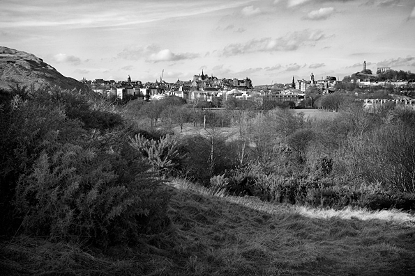 Edinburgh From Arthur's Seat