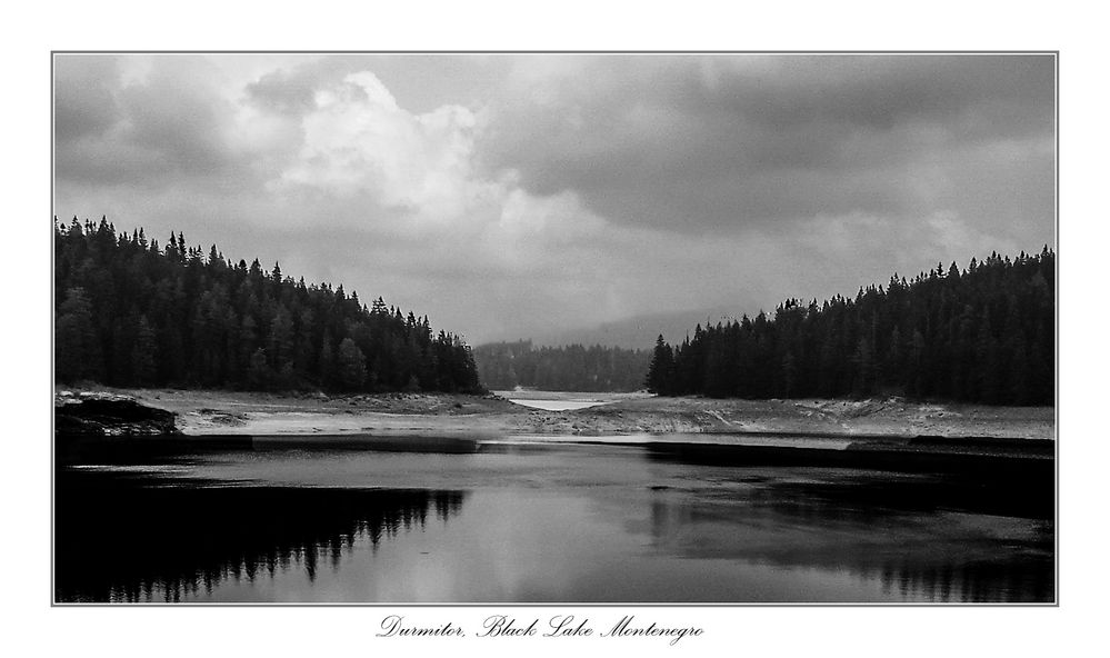 Photo Challenge Durmitor Black Lake Montenegro
